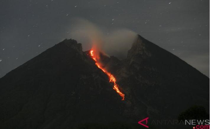 Gunung Merapi Lima Kali Meluncurkan Guguran Lava