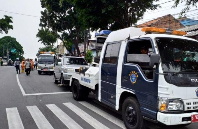 Jakarta Selatan Mencatat 8.734 Penindakan Lalin Sepanjang Tahun 2018