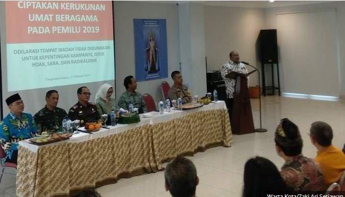 Badan Pengawasan Pemilihan Umum Kota Tangerang Selatan Pelajari Adanya Temuan Dugaan Kampanye Di Tempat Ibadah