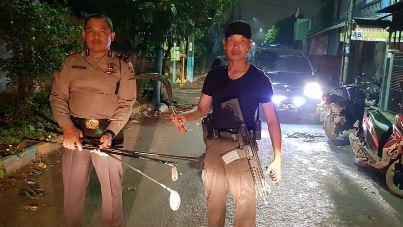 Tawuran Pecah Di Tangerang, Gerombolan Pemuda Membawa Senjata Tajam Diamankan