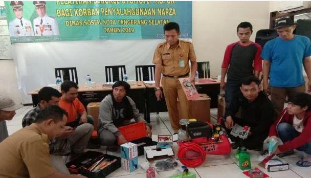Di Tangerang Selatan Mantan Pecandu Narkoba Dibekali Keterampilan