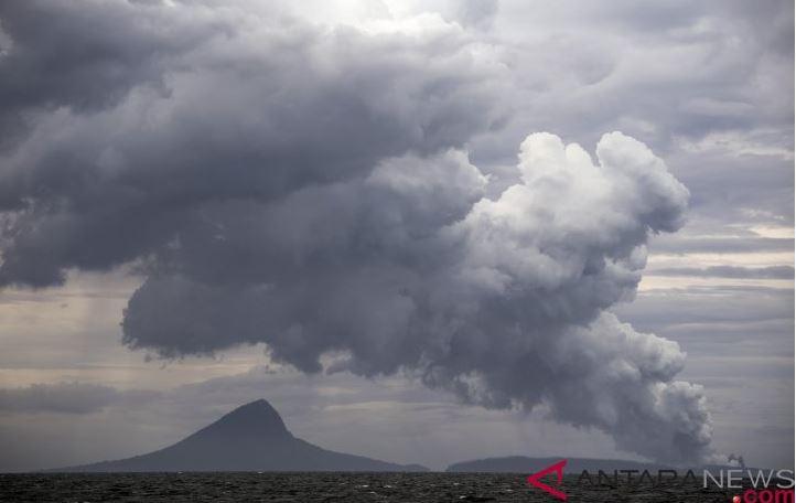 PVMBG: Gunung Anank Krakatau Mengalami Satu Kali Kegempaan Vulkanik Dalam