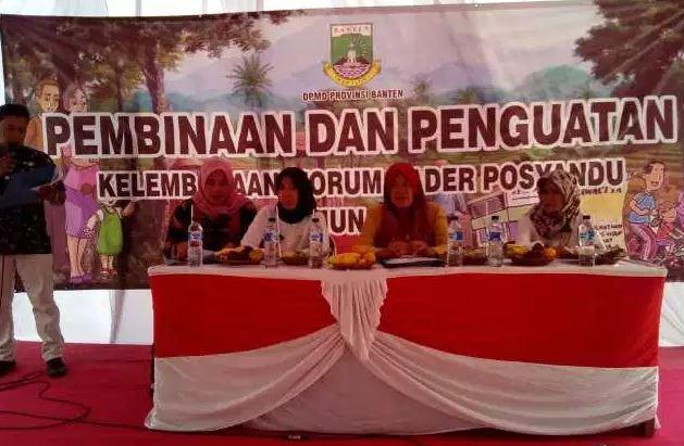 Di Kelurahan Lengkong Gudang Ada Kegiatan Pembinaan Dan Penguatan Kelembagaan Forum Kader Posyandu