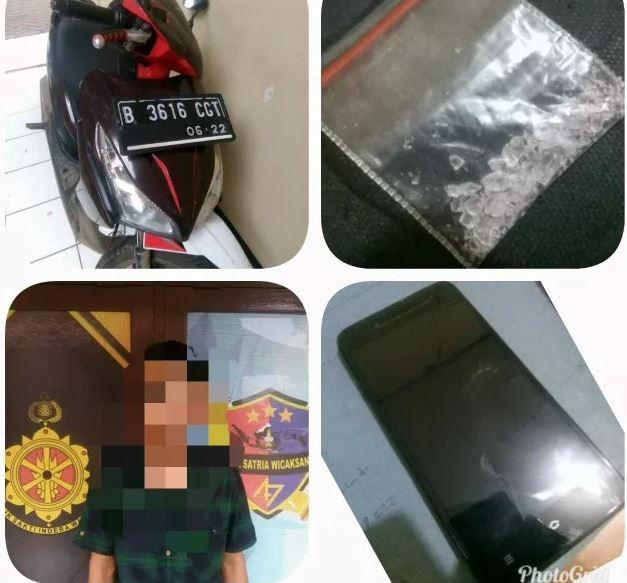 Reskrim Polsek Rajeg Tangerang Berhasil Amankan Seorang Pelaku Narkotika Jenis Sabu