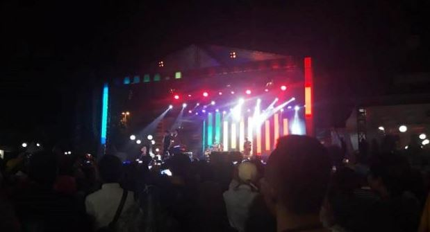 Suara Nyanyian Dari Yovie & Nuno Membuat Warga Tangerang Terkesima