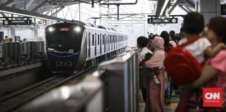 Moda Raya Terpadu (MRT) Jakarta Pertama Beroperasi Komersial Hari Ini