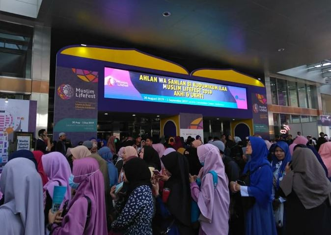 Muslim Lifestyle Festival Membludak Sejak Hari Pertama