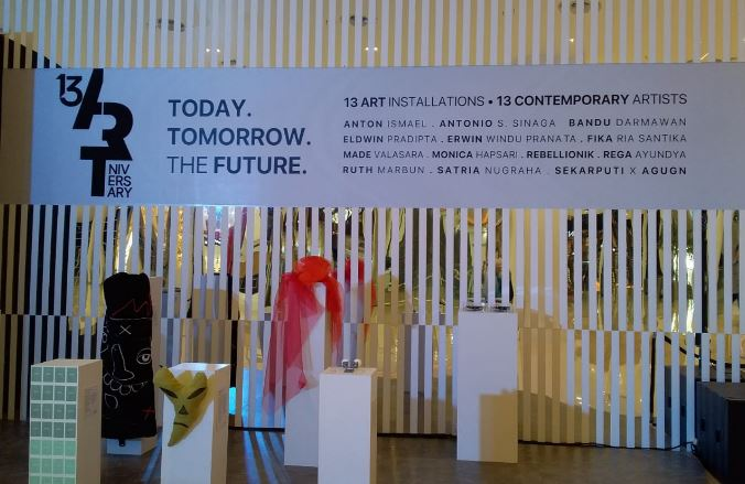 Gelar Syukuran Senayan City Mall dengan 'Today, Tomorrow, The Future Art Exhibition'