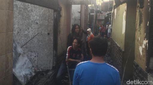 Kebakaran Di Jatinegara Menghanguskan Sebanyak 129 Rumah