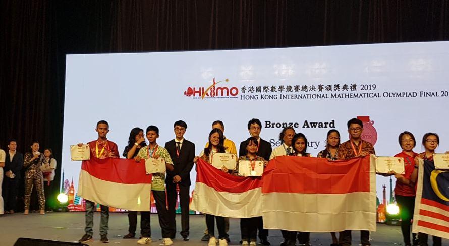 Siswa SMPIT Nurul Fikri Harumkan Nama Bangsa Di Ajang Kompetisi Matematika International