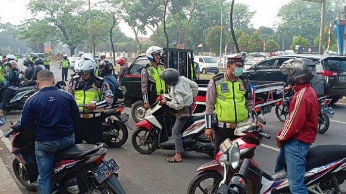 Polisi Tangsel Tindak Ribuan Pelanggar di Operasi Patuh Jaya