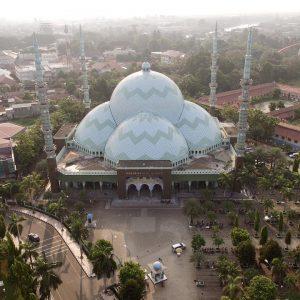 5 Bagian Menarik Dari Masjid Raya Al Azhom