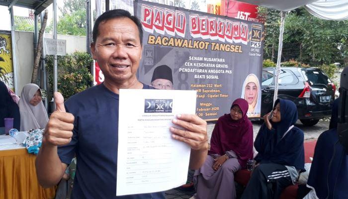 Warga Ciputat Timur Antusias Gabung ke PKS