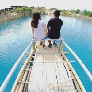 Tempat Wisata Telaga Biru Cisoka Tangerang Selatan