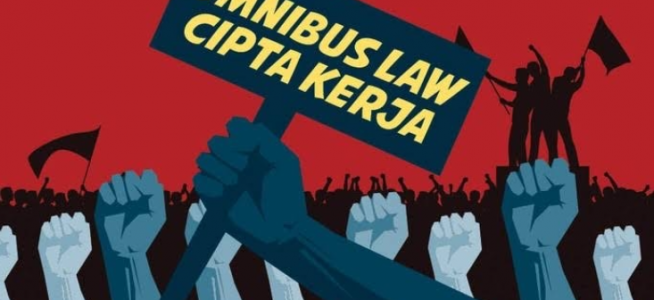 Omnibus Law Cipta Kerja, UU Kontroversi Dimasa Pandemi