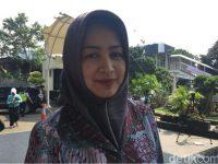 Airin Rachmi Walkot Tangsel Datang ke KPK Untuk Menemui Deputi Pencegahan