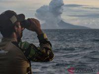 PVMBG: Anak Krakatau Mengalami 60 Gempa Letusan, 32 Gempa Embusan Dan Satu Gempa Tektonik Jauh