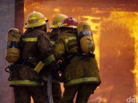 Terjadi Kebakaran Di Kebun Lada Binjai, Sejumlah Rumah Ikut Terbakar