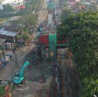 Cor Beton Proyek Tol Lingkar Bogor Jebol, 2 Pekerja Luka