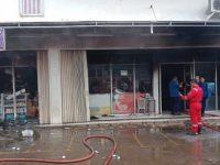 Minimarket Di Ciputat Hangus Terbakar Akibat Korslet Listrik
