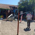 Tower Ambruk Menimpa Gedung SD Di Sulawesi Selatan, 8 Murid Luka-Luka