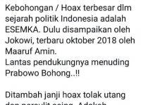Politikus Demokrat: Hoax Terbesar Dalam Sejarah Politik Indonesia Adalah Mobil Esemka