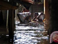 Di Baleendah, Bandung Banjir Tinggi Satu Meter Lebih