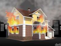 4 Rumah Kebakaran Di Ambon, 2 Orang Tewas
