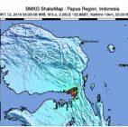 Gempa Bumi 3,5 Skala Richter Mengguncang Kabupaten Kaimana Papua