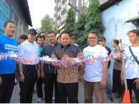 Walikota Tangerang Melaunching Kampung Bertema CLBK Di Karawaci
