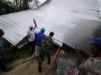Di Aceh Tengah Rumah Warga Rusak Diterjang Angin Putting Beliung