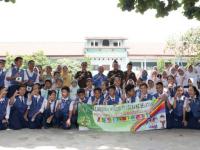 Kegiatan Jaksa Masuk Sekolah Di Ikuti Ratusan Siswa SMP Dengan Antusias