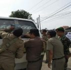 Karena Dikira Ada Razia, Sopir Angkot Di Balaraja Hampir Menabrak Petugas