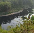 Warga Keluhkan Sungai Cileungsi Bogor Hitam Dan Berbau Busuk