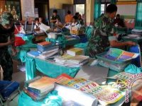 Sekolah Terpencil Di Nagan Raya-Aceh Mendapatkan Bantuan Pengajar Dari Prajurit TNI