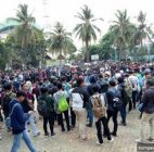 Sebanyak 300 Orang Mahasiswa Dari Tangerang Selatan Siap Berangkat Ke Gedung DPR