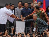 Meresmikan MRT, Jokowi: Jaga Kebersihan, Antri Dan Disiplin