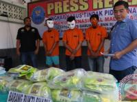 Polisi Menyita 50.000 Pil Ekstasi dan 25 Kg Sabu Dari Dua Jaringan