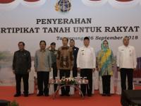 Sebanyak 5000 Warga Tangsel Dapat Sertifikat Tanah Dari Presiden Jokowi