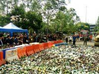 12.475 Botol Miras Digiling Di HUT Kota Tangerang Ke-26 Tahun