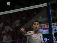 Medali Emas ke-23 Indonesia di Asian Games 2018 di Raih Jonatan Christie