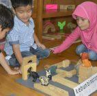 Asyiknya Belajar Sentra Di TKIT Auliya