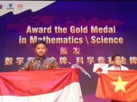 Indonesia Menuai Banyak Medali di Olimpiade Matematika China