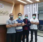 PT Polaritas Multitrans Technology Bersama IKATEMI Banten Berikan Kabin Desinfektan Dan Suplemen Ke RS Rujukan Covid 19
