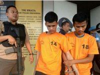 Dua Remaja Di Tangerang Selatan Mencuri Motor Ditangkap Polisi, Salah Satunya Ditembak