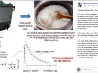 Viral! Nasi di Dalam Rice Cooker Cepat Basi, Teori Fisika  Menjelaskan Kenapa Bisa Cepat Basi