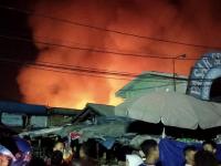 Kebakaran Pasar Sederhana di Kota Bandung, 5 Pemadam Kebakaran Diturunkan