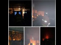 Kebakaran Pabrik Mie Tulungagung Berasal Dari Tungku Penggorengan