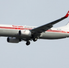 Pesawat Garuda Indonesia Vintage Flight Terbang Perdana Jakarta-Surabaya