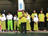 Siswa SDIT Auliya Lakukan Doa Bersama Untuk Korban Gempa Lombok
